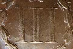 Counterfeit2 Counterfeit Detection: Spark Erosion 1874 Three Cent Nickel Die Trial