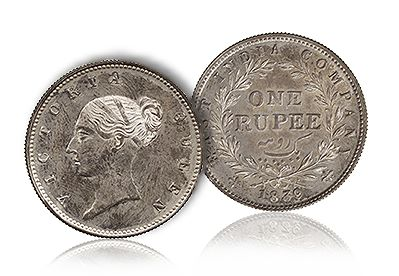 ForeCollection 1839 Rupee Breaks Record Becoming the First Silver British Indian Coin to Sell for a Six Figure Sum