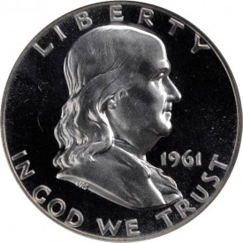 HD1961ProofObv 275x275 Coin Rarities & Related Topics: Inexpensive 20th Century Half Dollars for Beginners
