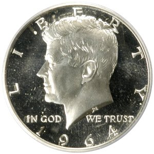 1964 Proof Half Dollar