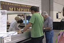 Debbie Knight Talks About the Memphis Paper Show