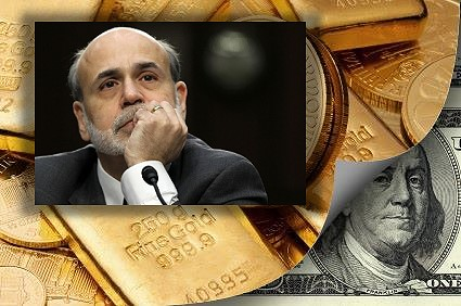 Gold & Silver Fall to 2010 Levels on Bernanke Comments