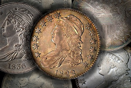 bust half group 2 Coin Rarities & Related Topics: Coins for less than $500 each, Part 4; Bust Half Dollars