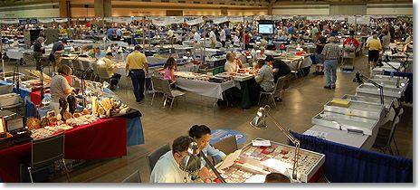 coin show floor Legend Numismatics Market Report: THE JUNE BALTIMORE SHOW