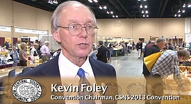 csns foley vid Why People Come to the CSNS Central States Coin Convention. VIDEO: 2:08