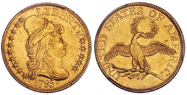 dw 1795 5 MLD United States Gold Coins with Multiple Levels of Demand