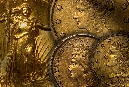 United States Gold Coins with Multiple Levels of Demand
