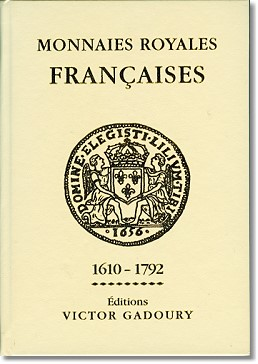 "french book 1 Gadoury releases 2013 edition of French Standard Reference, Monnaies Françaises (""Le Rouge"")"