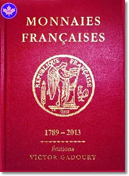 "french book 2 Gadoury releases 2013 edition of French Standard Reference, Monnaies Françaises (""Le Rouge"")"