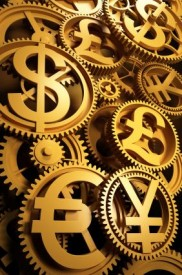 gold money gears 182x275 The Big Driver for Precious metals this Week, Wall Street Betting Against Silver Price