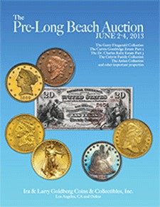 goldberg prelb Long Beach Auctions Capture $25 Million   Glorious Branch Proof Morgan Powers To $528,750