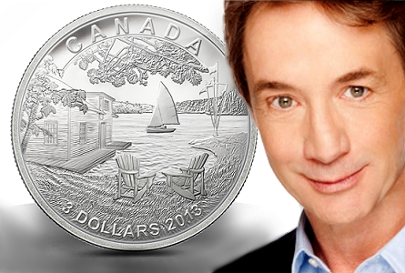 rcm short Canadian Celebrity Martin Short Partners with the Royal Canadian Mint to Design Special Collector Coin