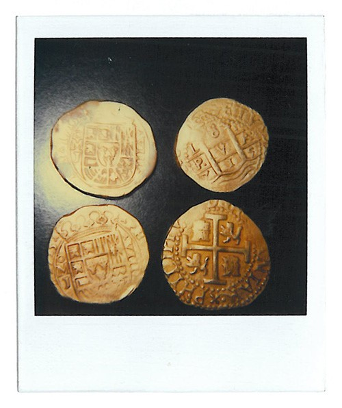 1715 lima polaroid Lima Eight Escudos Gold Treasure Coin from the 1715 Fleet ?
