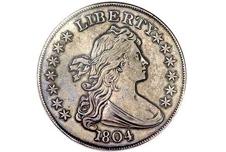1804 Dollar Anchors Heritage Aug. 8th Platinum Offerings in Chicago