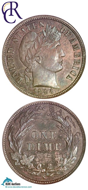 1894 s Richmond Condition Ranking of 1894 S Dimes, with Recent Histories