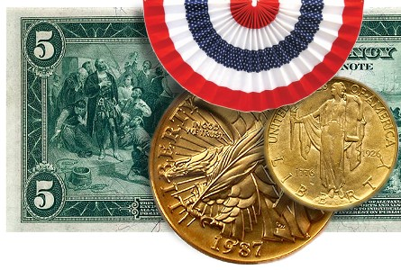 Freedom-Oriented U.S. Coins And Notes