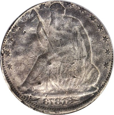 73cc error b Error Coins: Fascinating Multi Struck and Brockage 1873 CC With Arrows Half Dollar being offered for Sale