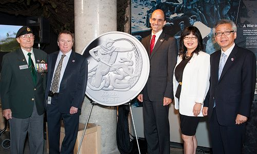 KoreanArmstice The Royal Canadian Mint Honours The 60th Anniversary of the Korean Armistice with a Special Edition Silver Dollar
