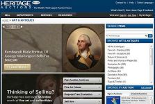 Heritage Auctions launches website redesign of HA.com