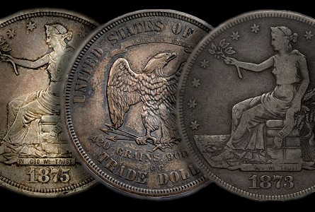 Trade dollars gr  Classic U.S. Coins for less than $500 each, Part 7: Trade Dollars