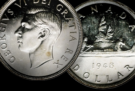 Canadian Coins: The Silver Dollars of Canada