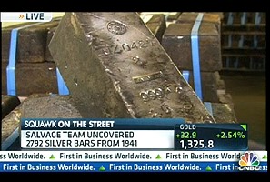 cnbc silver shipwreck Silver Shipwreck: 61 tons recovered from the ocean floor   CNBC