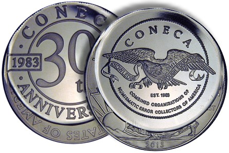 coneca medal CONECA 30th Anniversary Medals Now Available!