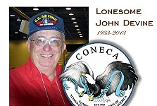 Another Error Coin Pioneer Passes … Lonesome John Devine 1933-2013