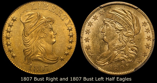 dw 1807 trans 5 Collecting Strategies: Transitional Gold Coins
