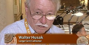 Walter Husak Talks About the Large Cents Market and Sheldon 37. VIDEO: 2:27