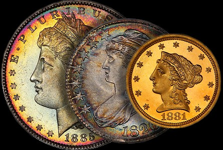 Regency Coin Auction IV realizes nearly $3 million, with many headliners bringing well into six figures