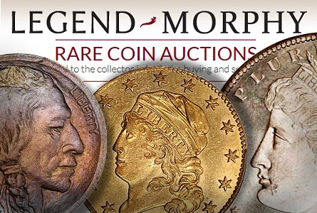 Legend-Morphy's Regency Coin Auction IV kicks off July 18 at PCGS Members Only Show