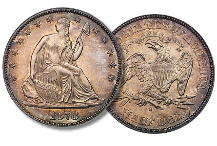 The Stack's-Bowers 2013 ANA Rarities Night, Part 3: Famous 1878-S Liberty Seated Half Dollar
