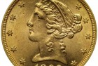 Counterfeit Coin Detection:   US Gold 1892 Half Eagle
