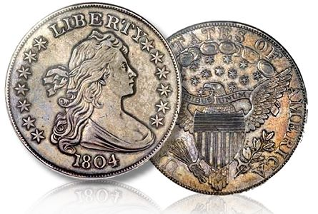 Mickley Hawn Queller 1804 1804 Silver Dollar Sells for $3.88 Million in pre ANA Auction near Chicago