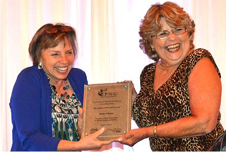 Eloise Ullman Receives PNG Lifetime Achievement Award