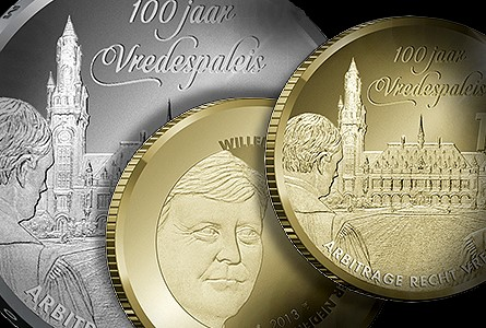 Dutch Coin with an American Twist: Centennial of the Peace Palace in the Hague