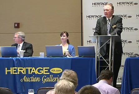herirage auctions CSNS CoinWeek Coin & Currency Show Schedule