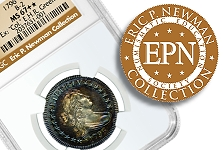 NGC Certifies Part Two of the Eric P. Newman Collection