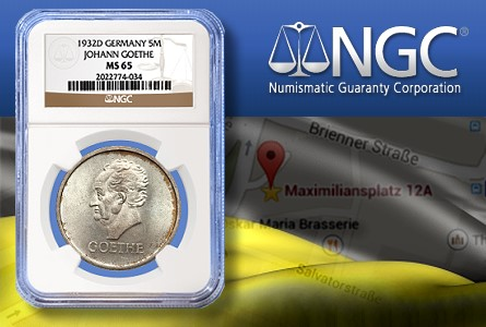 Numismatic Guaranty Corporation Opens Coin Grading Office in Munich Germany