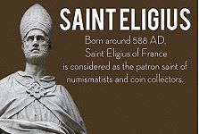 saint eligius Infographic: The Hobby of Collecting Coins