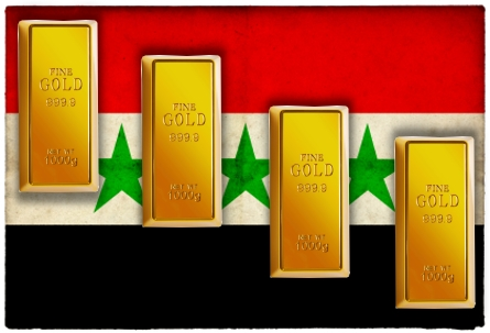 syria gold down Gold Erases Weeks 2.5% Gain After UK Rejects Syrian Action