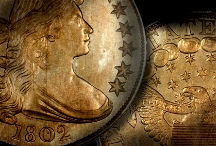 1802 1 norweb Begin Collecting Early American Coins with the Draped Bust Heraldic EagleType