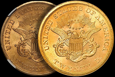 The 1854-S Double Eagle US Gold Coin: A Study
