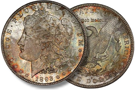 Legend Numismatics Market Report : The Coronet Morgan Dollar Collection