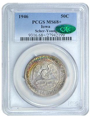 1946 iowa pcgs GreatCollections to Auction Young Collection of US Commemorative Coins