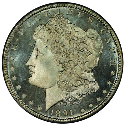 91 cc morgan PCGS Hosts First Display of Finest Morgan Dollar Set at Long Beach Expo