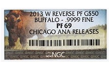 The Coin Analyst: Are the Chicago ANA Buffalo Reverse Proof Gold Coins Really That Special?