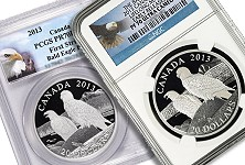 Royal Canadian Mint sells out all 7,500 of second issue in Bald Eagle Series