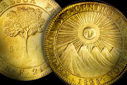 costa rica gold World Coins: The Early Coinage Of Costa Rica
